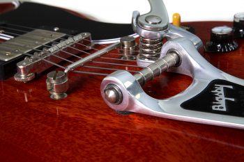 BIGSBY B3 installed on a 1961 GIBSON SG TOWNER DOWN TENSION BAR