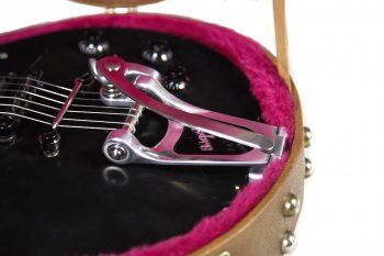 TOWNER V.BLOCK SYSTEM, DOWN TENSION BAR WITH HINGE-PLATE ADAPTOR for LES PAUL GUITARS with BIGSBY B3 Only *Fits Case